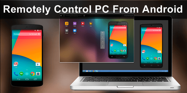 How to control your pc/laptop using your android phone. Updated.