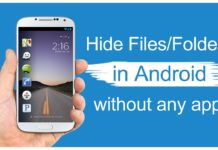 Steps to Hide Files and Folders on Android Without Third Party App