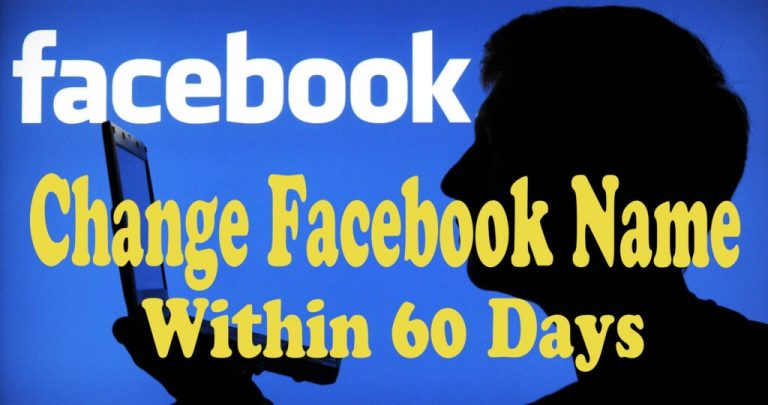 How to Change my Facebook Profile Name Before 60 Days Limit (2 METHODS)