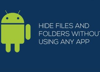 Hide Files and Folders on Android