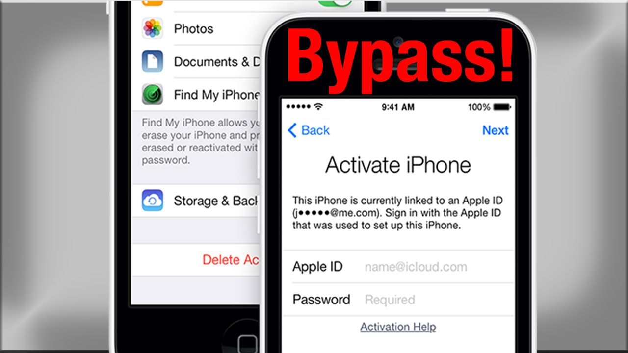 bypass activation lock iphone 5 how to bypass icloud activation lock on iphone 16748