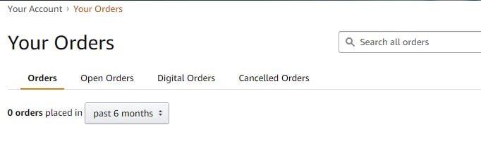 Check order Amazon min