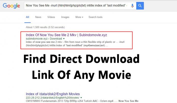 Find Direct Download Link