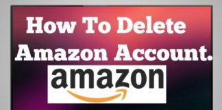 Delete Amazon Account Permanently
