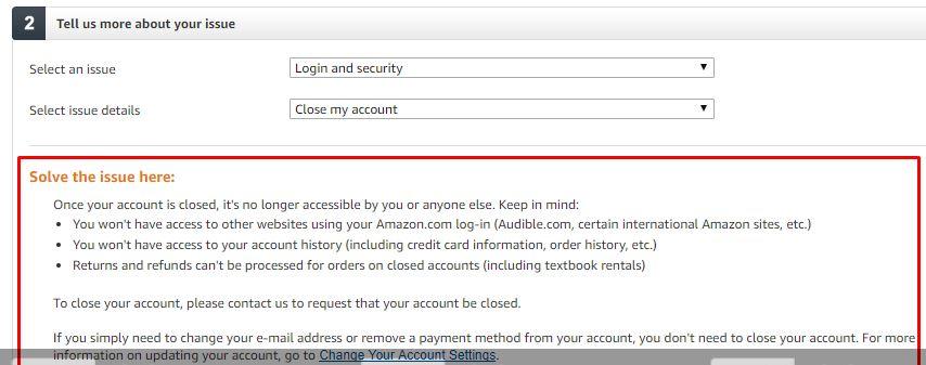 Warnings Amazon min