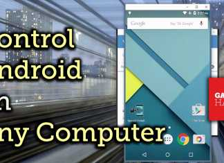 Control Android from Computer
