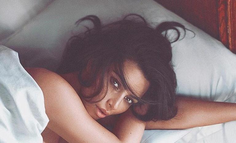 In bed with Kim Kardashian
