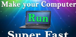 Make PC/Laptop Run Faster