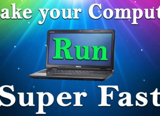 Make PC/Laptop Run Faster