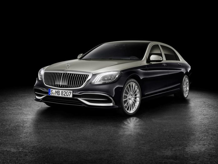 2018 Mercedes-Maybach Facelift