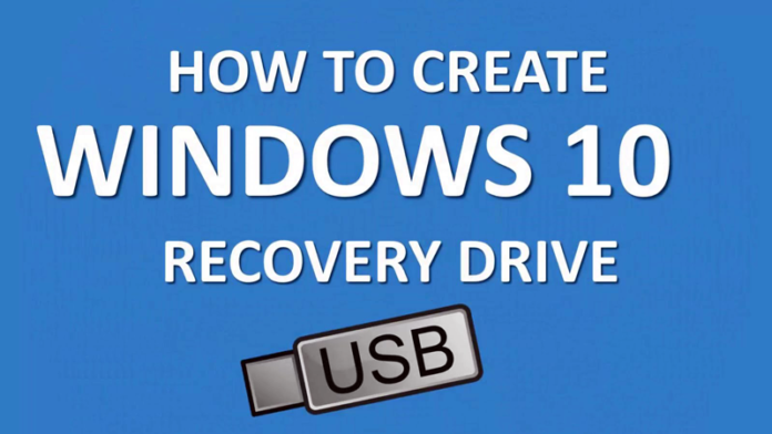 Create A Windows 10 Recovery Drive/Disk