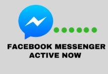 Hide Facebook Messenger Active Now Status