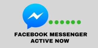 Hide Facebook Messenger Active Now Status