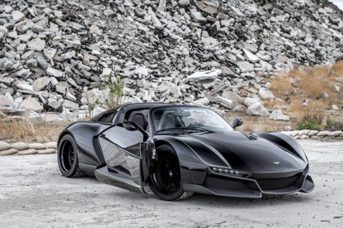 700hp Rezvani Beast Alpha X 'Blackbird'