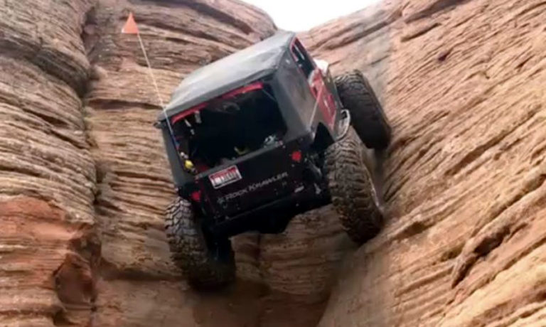 """The car that """"challenges"""" gravity – Video"""