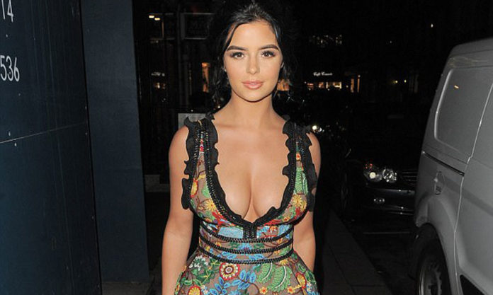 Demi Rose undressed at the 23rd anniversary celebration