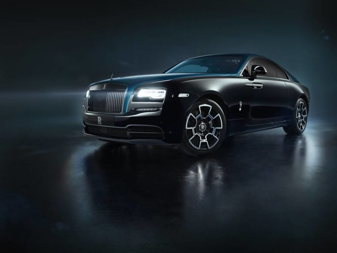 Rolls-Royce Black Badge – The Adamas Collection