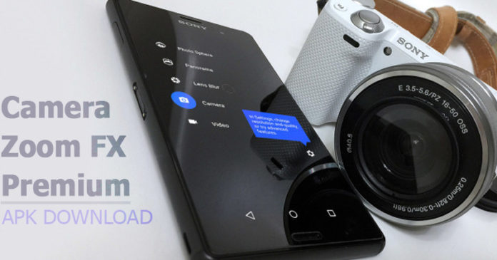Camera ZOOM FX Premium APK 6.2.9 Latest Version