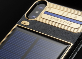The $4,500 'iPhone X Tesla' With A Solar Panel