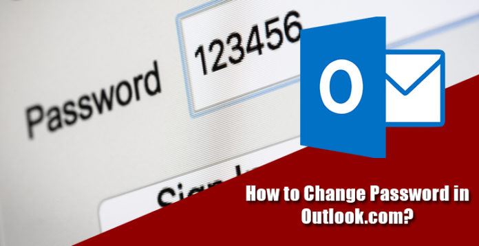 How To Change Your Outlook.com Account Password