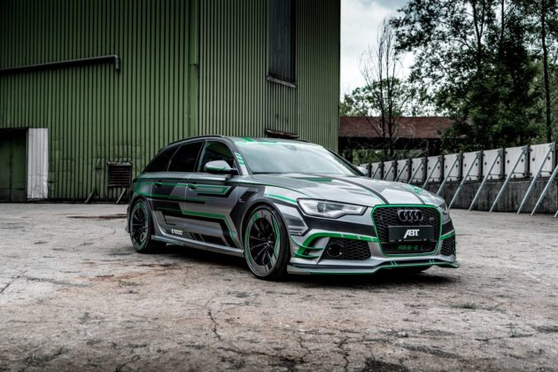 1018hp Audi RS6-E Hybrid