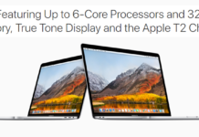 Apple 2018 MacBook Pros: 8th Gen Core, 32GB Of RAM, Third-Gen Keyboard Lunched!