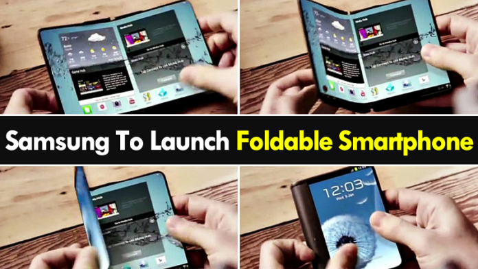 Samsung Foldable Screen Smartphone Arriving In 2019
