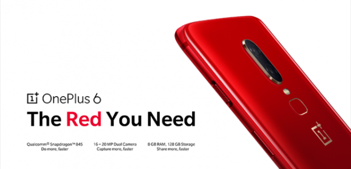 OnePlus 6 Red variant with 8GB RAM, 128GB storage announced, will be available from July 16