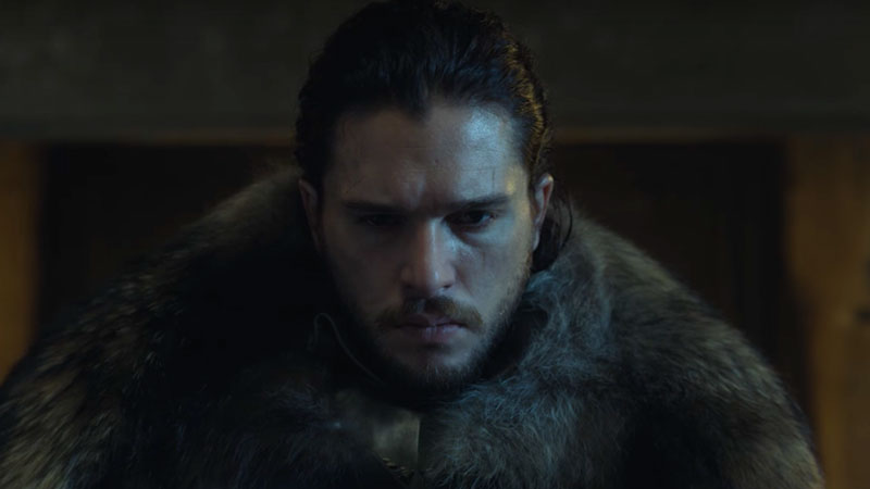 Black and sensual ... The Beer in honor of Jon Snow