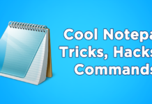 Coolest Notepad Tricks, Hacks & Commands (Top 20+) [2018]