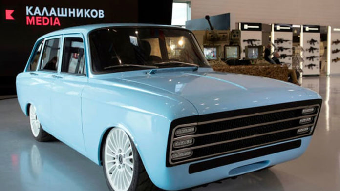 Kalashnikov launches the production of electric cars