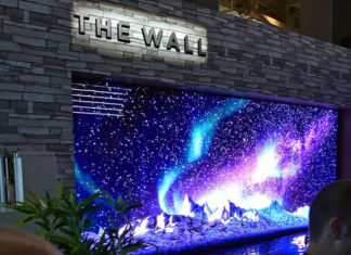 Wall-TV, The Revolutionary Screens From Samsung (Photo)