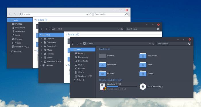 Arc - Windows 10 Theme