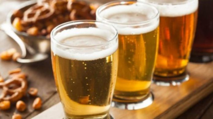 Beer during a weakening diet