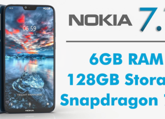 Nokia 7.1 Plus Incoming With Snapdragon 710 SoC,6GB RAM, 128GB Internal,