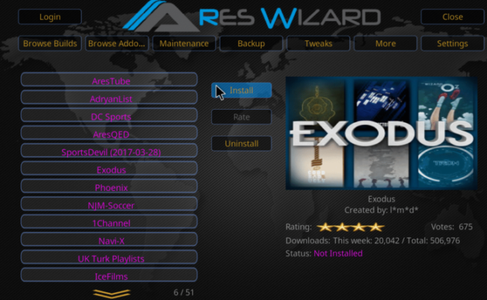 Steps to Install Kodi 17.1 Ares Wizard, and Get Pin using http://bit.ly/build_pin