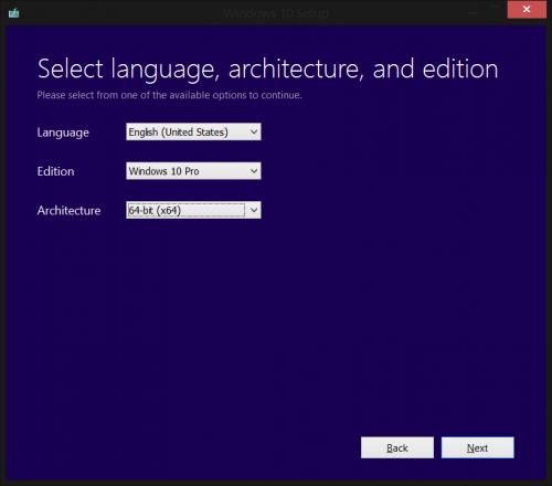 Windows 10 Tool (Step 2)