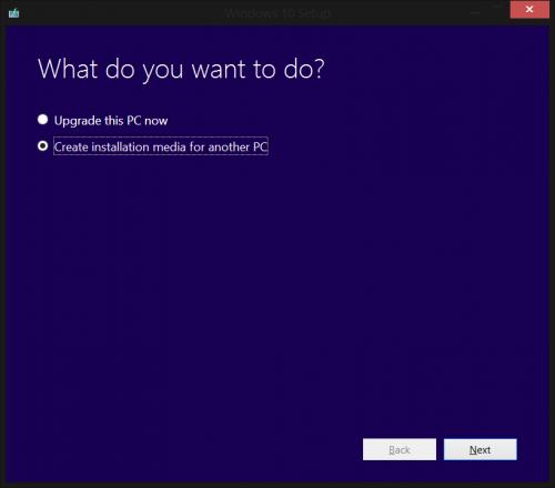 Windows 10 Tool Start
