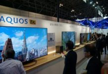 8K TV from Sharp goes on sale next month
