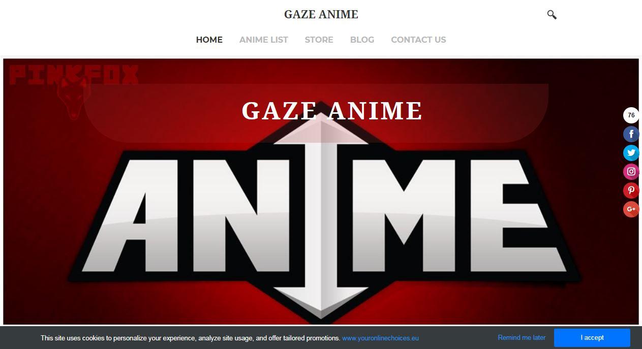 Gaze Anime