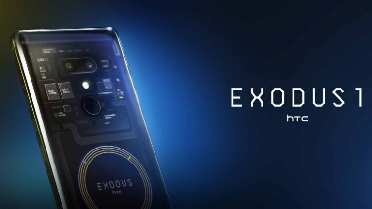 HTC launches Exodus 1, the first phone that supports cryptocurrency