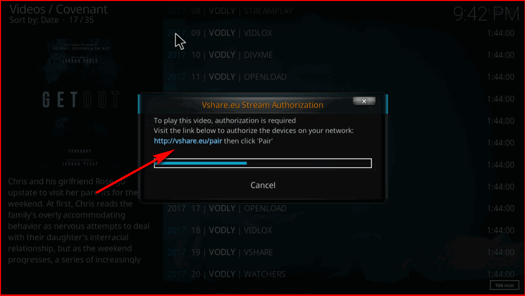 How to Fix https://vshare.eu/pair Error on Kodi (3 Working Methods)