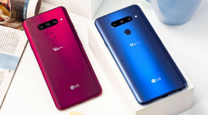 LG V40 ThinQ With Snapdragon 845, 6GB RAM, 5 Cameras & 128GB internal Launched