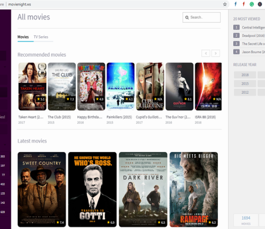 Movienight.ws Alternatives: Top 5 Best sites Like Movienight ws