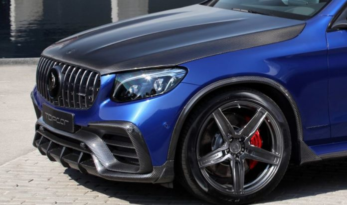 New Look for Mercedes-Benz GLC Coupe New Look By TopCar
