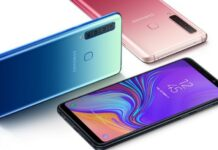 Samsung launches the first four-camera phone, the Galaxy A9