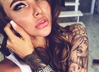 "Study: Men, ""afraid"" of women with tattoos"
