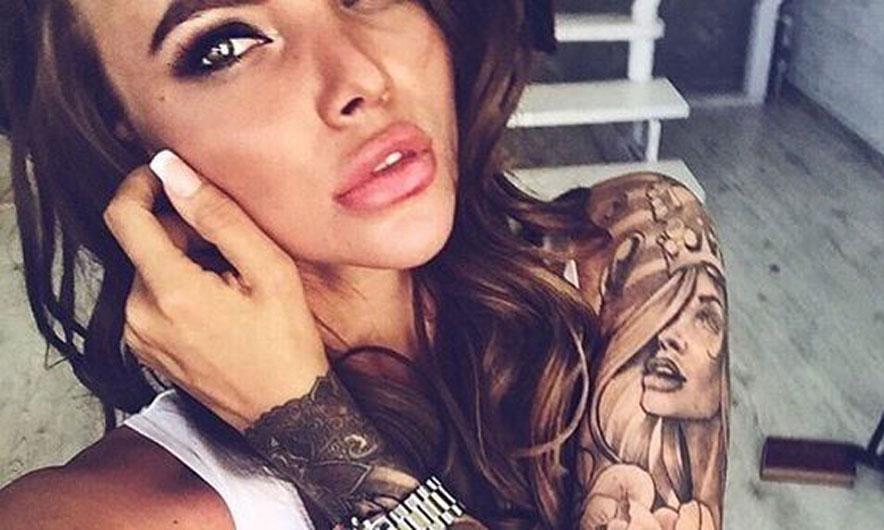 "Study: Men, ""afraid"" of women with tattoos"