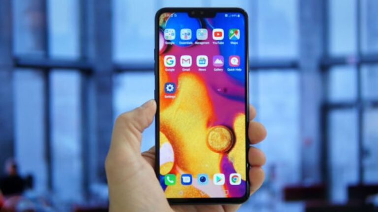 The pre-orders for the LG V40 start earlier than expected