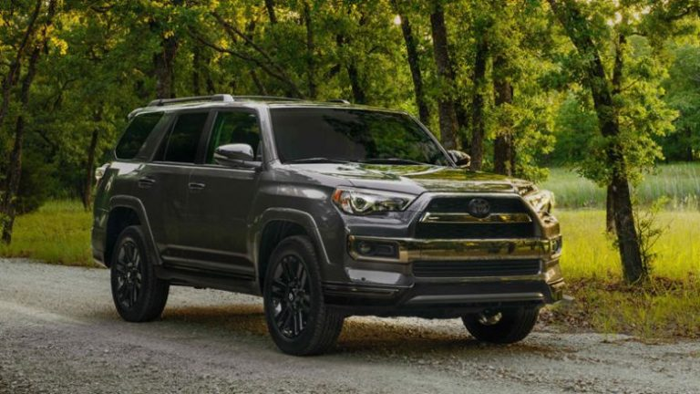 2019 Toyota 4Runner Nightshade Special Edition Launched